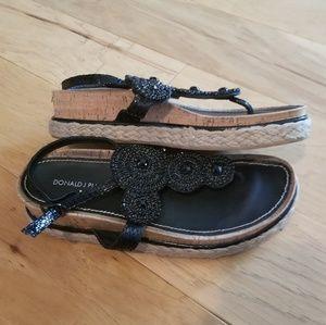 Donald J. Pliner Beaded Espadrille Sandals